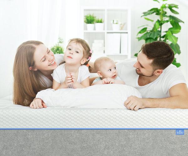 idle gel foam mattress 1