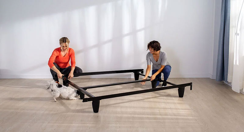 Layla Bed Frame. Less than 30 minutes to assemble